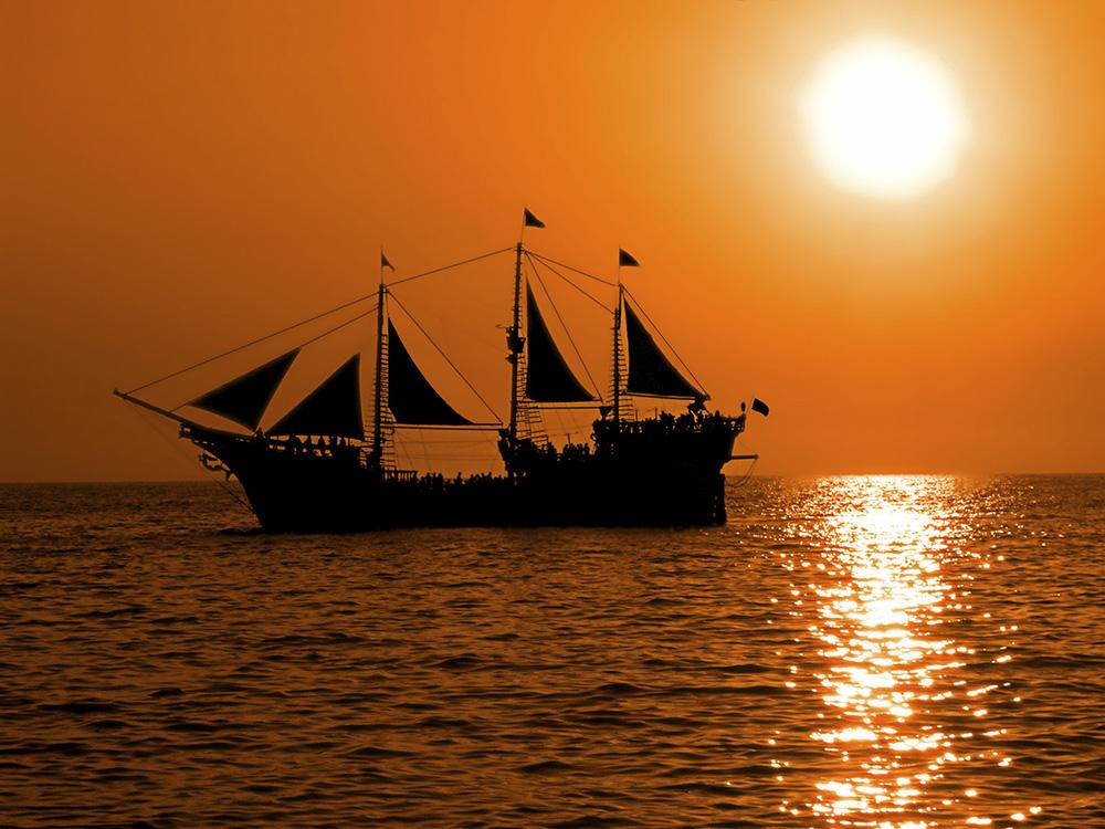 The Marigalante Pirate Ship Tour