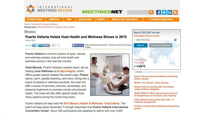 International Meetings Review