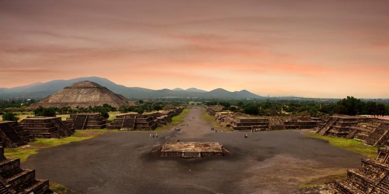 Aztec ruins near Mexico City