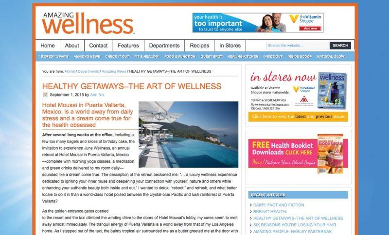 Amazing Wellness - Hotel Mousai Puerto Vallarta