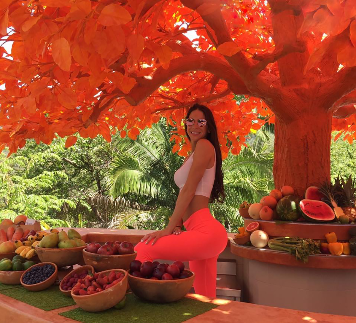 Jen Selter at Hotel Mousai Puerto Vallarta