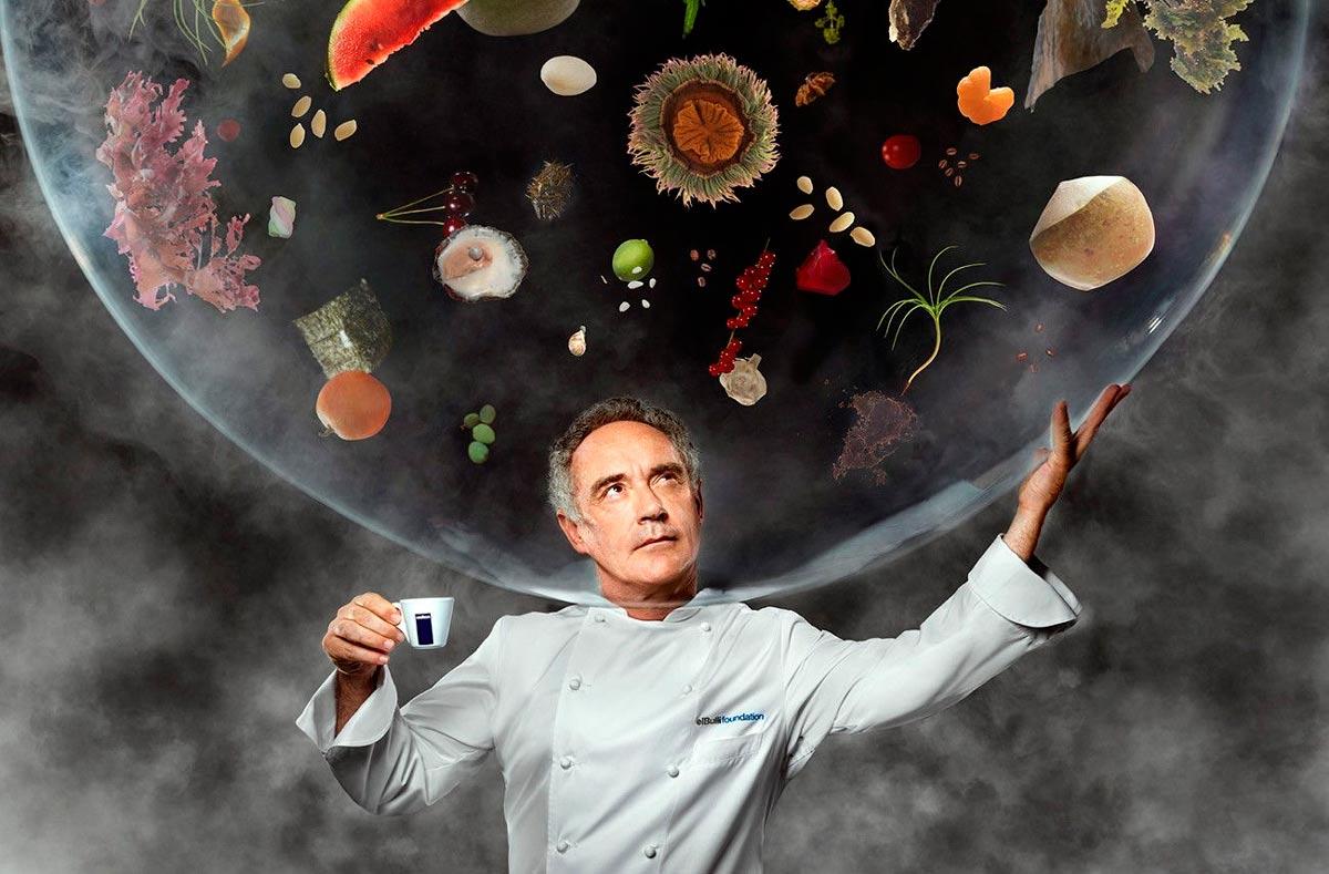 Inspiration for Chef Mario Castro: Ferran Adrià