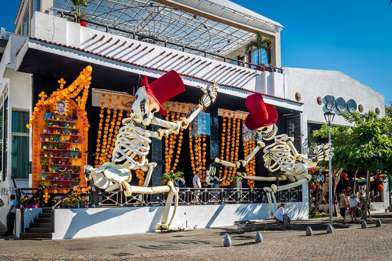 The Day of the Dead in Puerto Vallarta - Celebration at Hotel Mousai