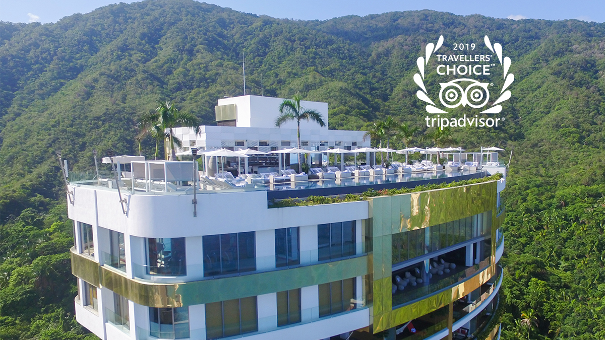Hotel Mousai Wins 2019 Travelers' Choice Award!