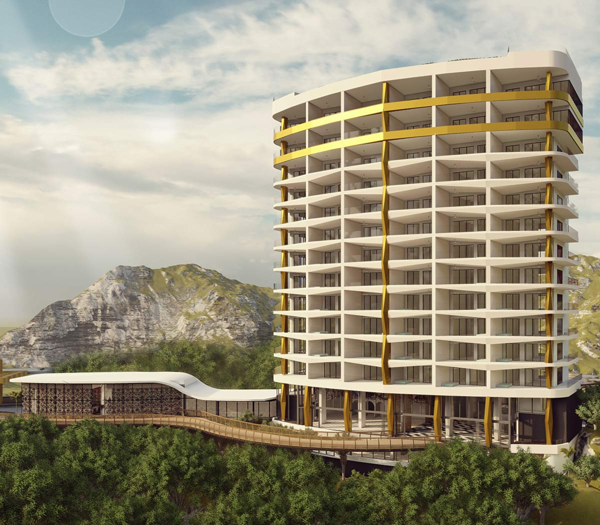 hotel mousai new tower