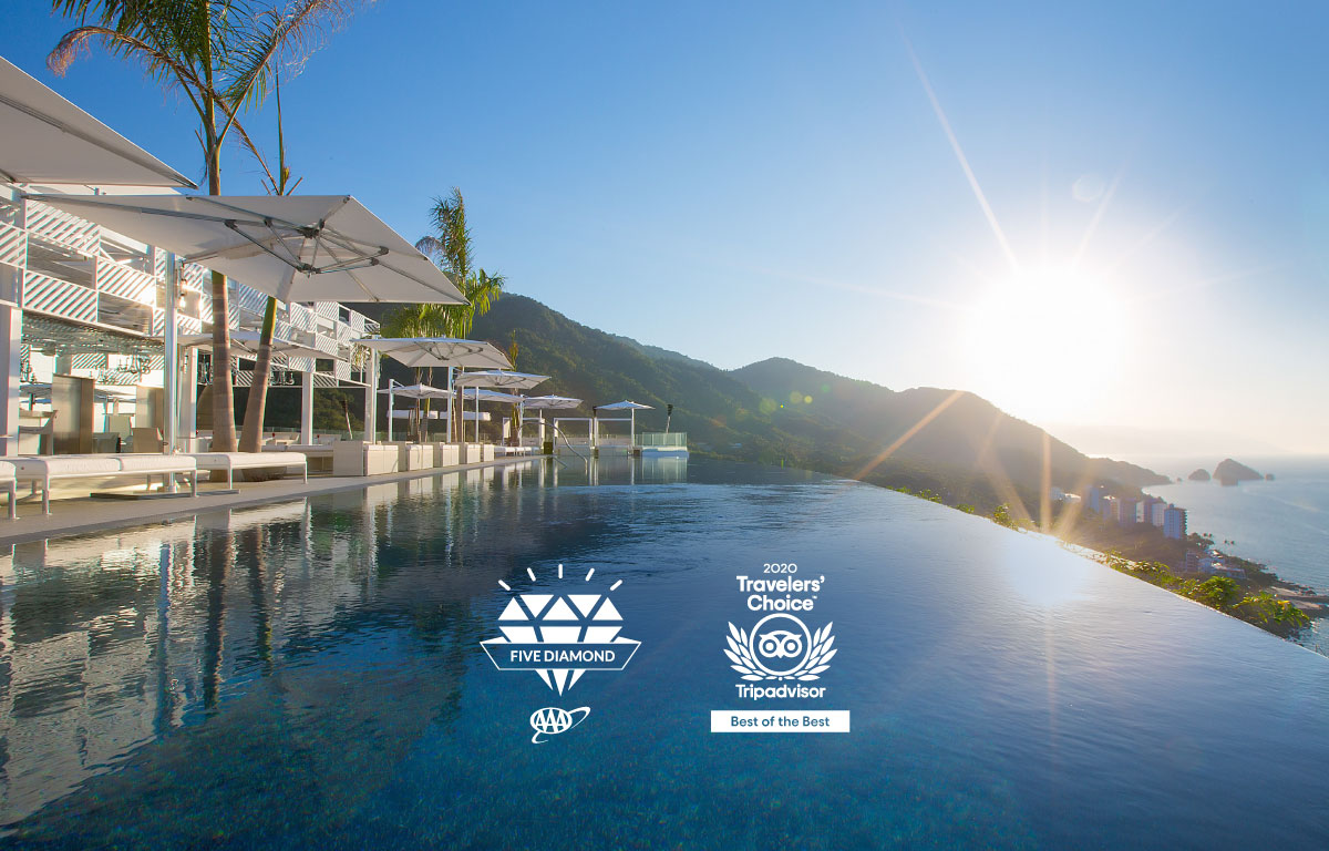Hotel Mousai Puerto Vallarta Received Five Diamond Award