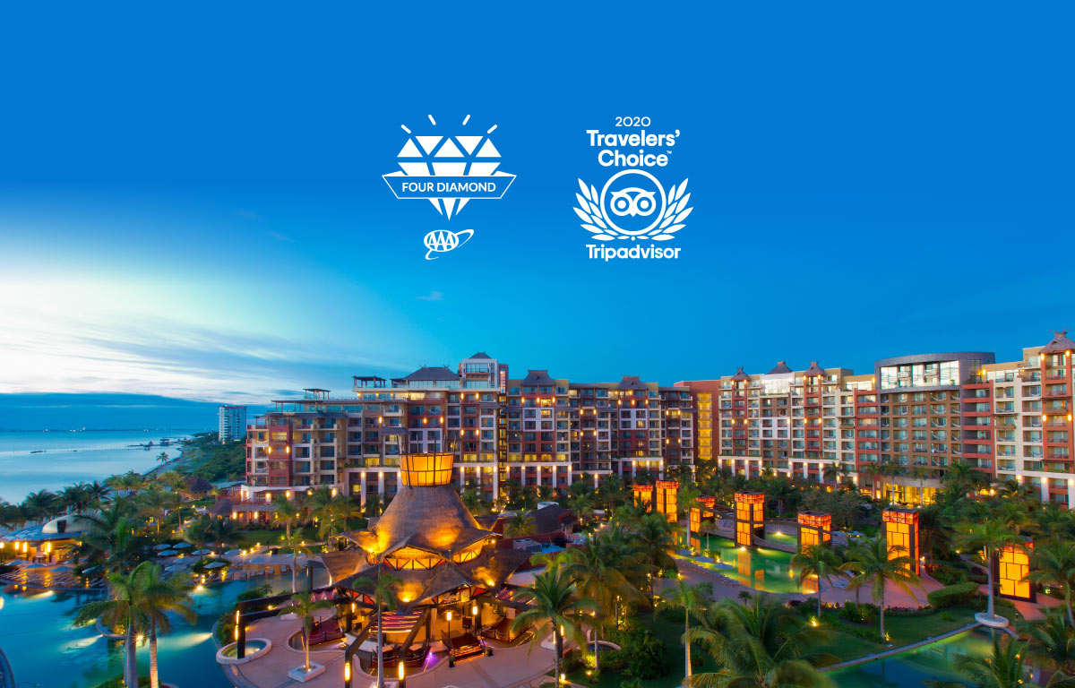 Villa del Palmar Cancun Received 4 Diamonds AAA