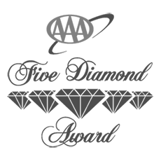 AAA Five Diamond Award for Hotel Mousai in 2016