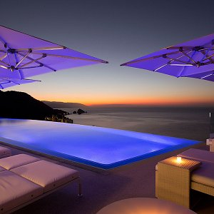 Magnificent infinity pool